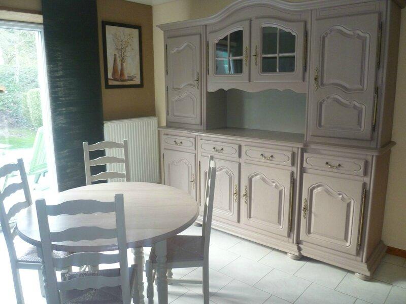 Pro votre patrimoine mobilier valoris r nov relook par la cr ation r - Relooker un vaisselier ...