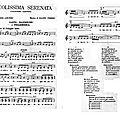 Picolissima serenatta
