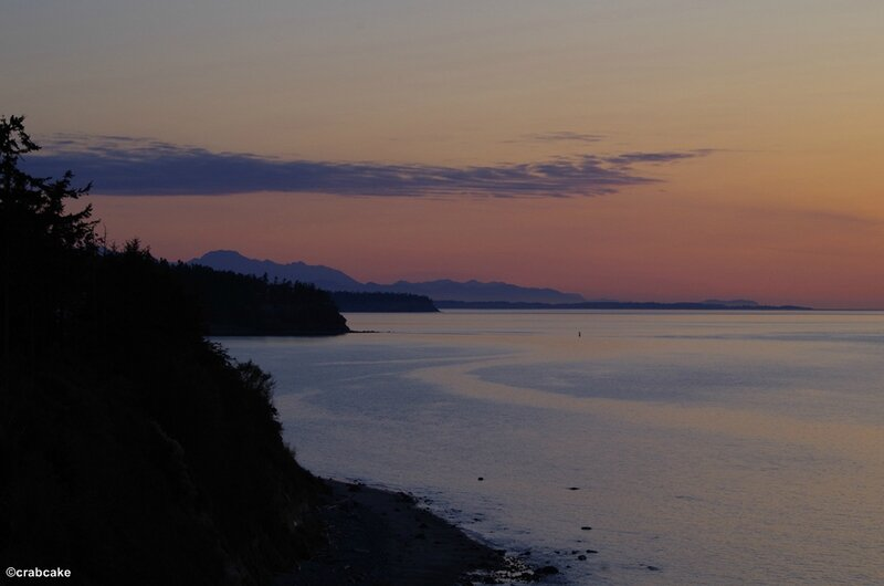 Sunset Port Townsend 2