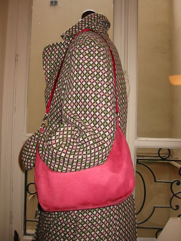 sac à main rose 7