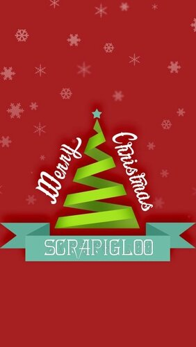 merry christmas scrapigloo