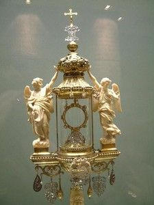 Ostensoir monstrance Trésor de St Paul ANVERS 1839_S Wetterwald