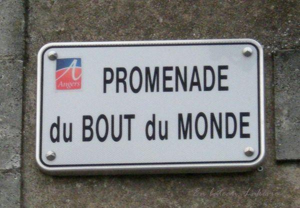 Angers Promenade bout du monde