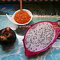 Confiture de papayes fraiches