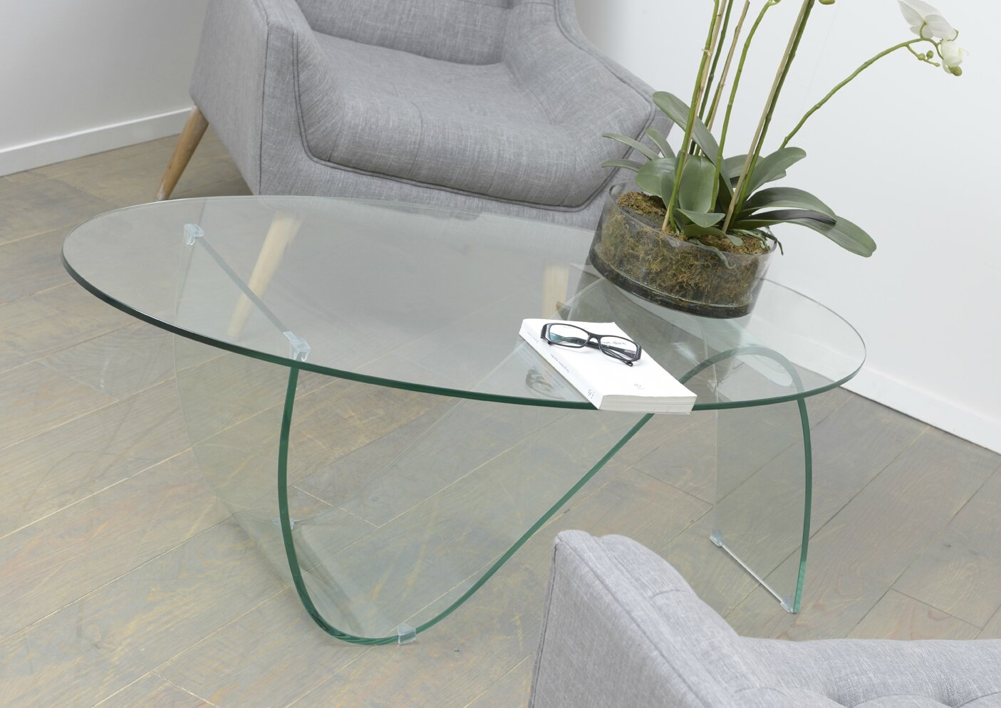 Table basse design grande dimension - Petite table basse en verre ...