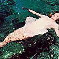 Green water mermaids