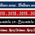Bandes de titres pour vos cartes (lundi 1er décembre 2014)