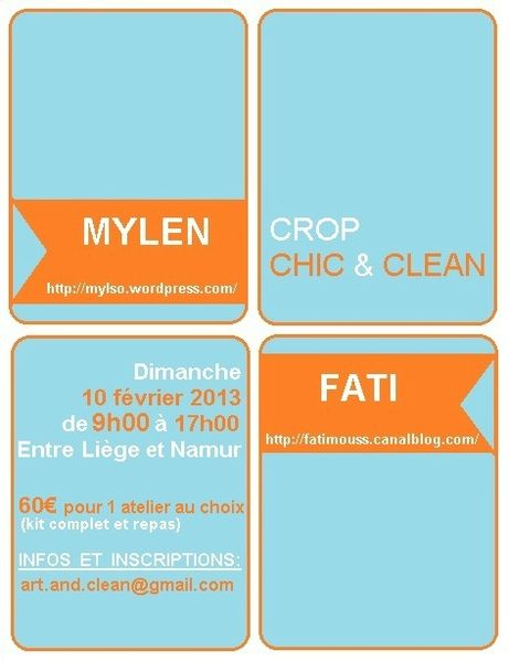 affiche crop chic & clean