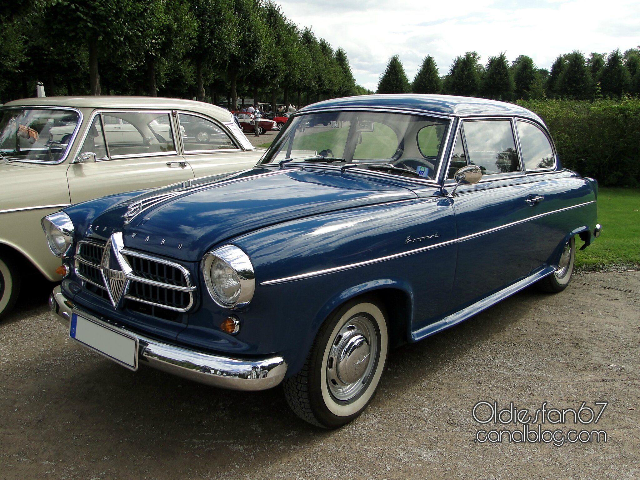 borgward hansa 1500 isabella de luxe 1954 1957 oldiesfan67 mon blog auto. Black Bedroom Furniture Sets. Home Design Ideas