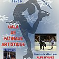Demain, gala de patinage