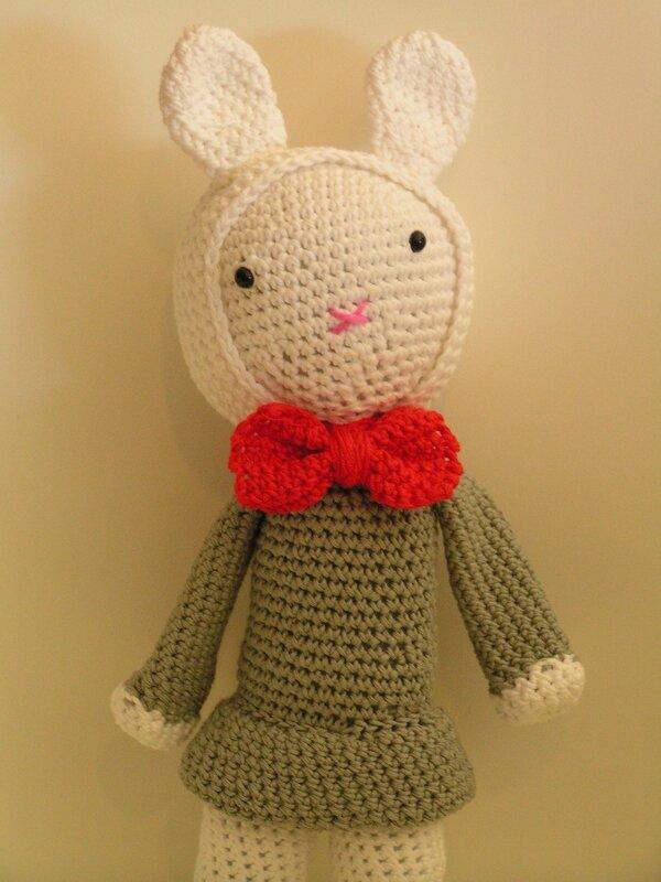 lapin tendre crochet