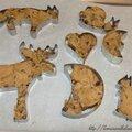 cookies de noël en quelques minutes #jour_2 du calendrier de l'avent