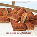 Financiers noisette