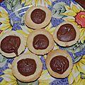 Tartelettes nutella ou confiture