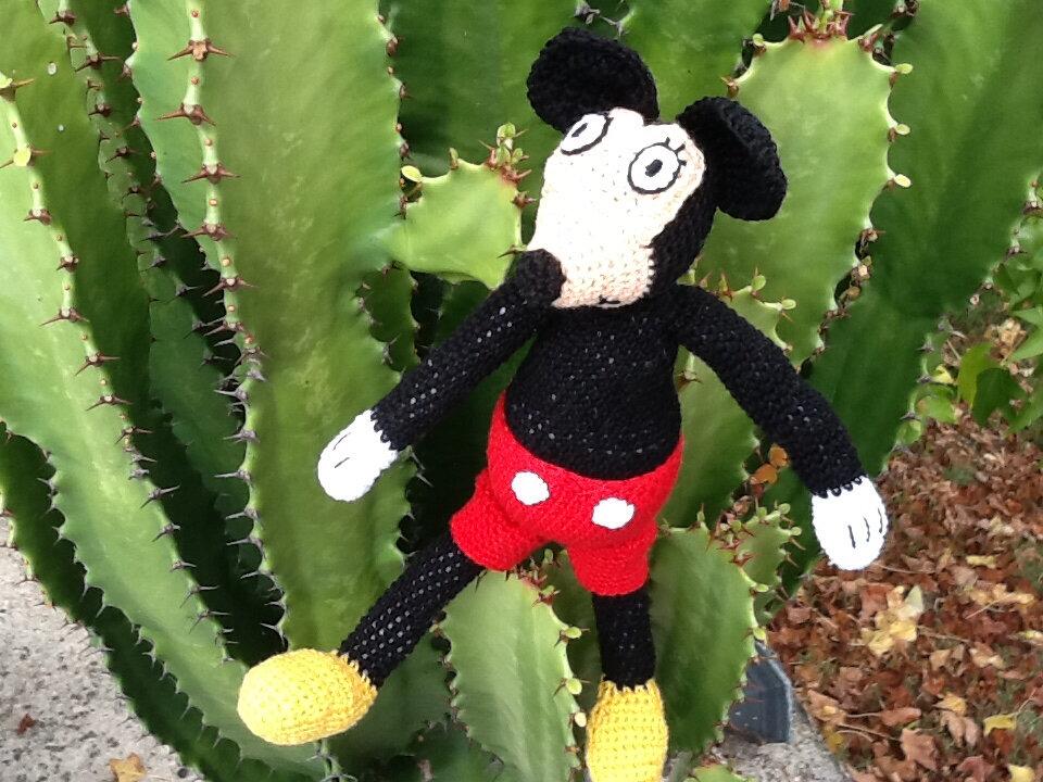Mickey au crochet