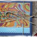 Bloc-notes offert en fin d'année à l'ASEM d'Anaïs