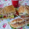 Menu sandwiches pour pique-nique estival