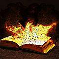 Livre qui explose avec gimp