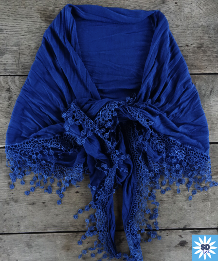 AXE407 SANDAfrip Châle bleu (4)