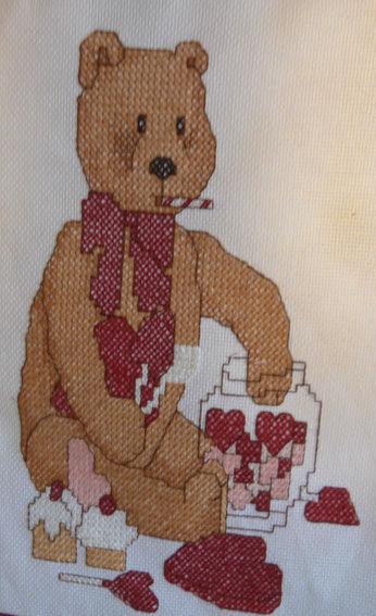 détail panneau ours