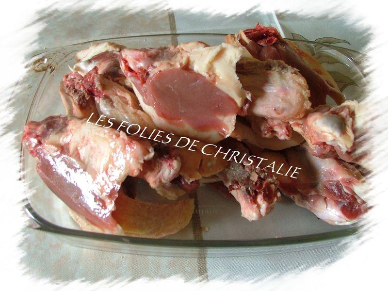 Manchons de canard les folies de christalie ou quand - Comment cuisiner des cuisses de canard ...