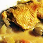 tajine poulet citrons confits et olives '