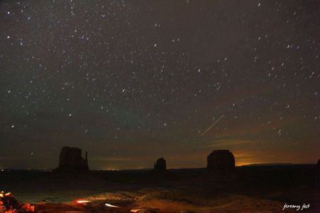 monument valley night star