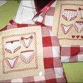 Petits sacs lingerie (création C. Lacroix pour DMC)