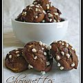 Chouquettes chocolat tonka...