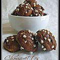 Chouquettes chocolat tonka...