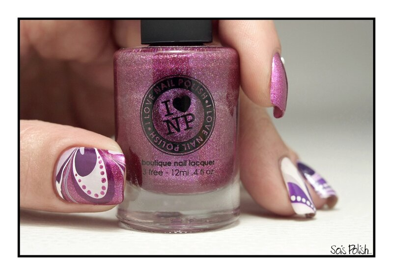 ILNP Water Marble Sois Polish