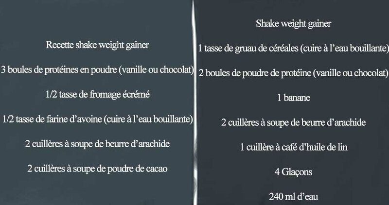 Recettes-shake-weight-gainer