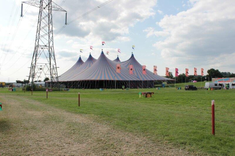 John Peel Stage Glastonbury festival 2013 avant ouverture des portes