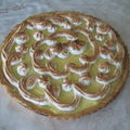 TARTE AU CITRON MERINGUEE...UNE TUERIE A EN CROIRE LES GOUTEURS !!!!!!!!