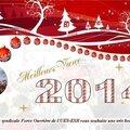 Nous vous souhaitons à toutes et à tous une très bonne année!