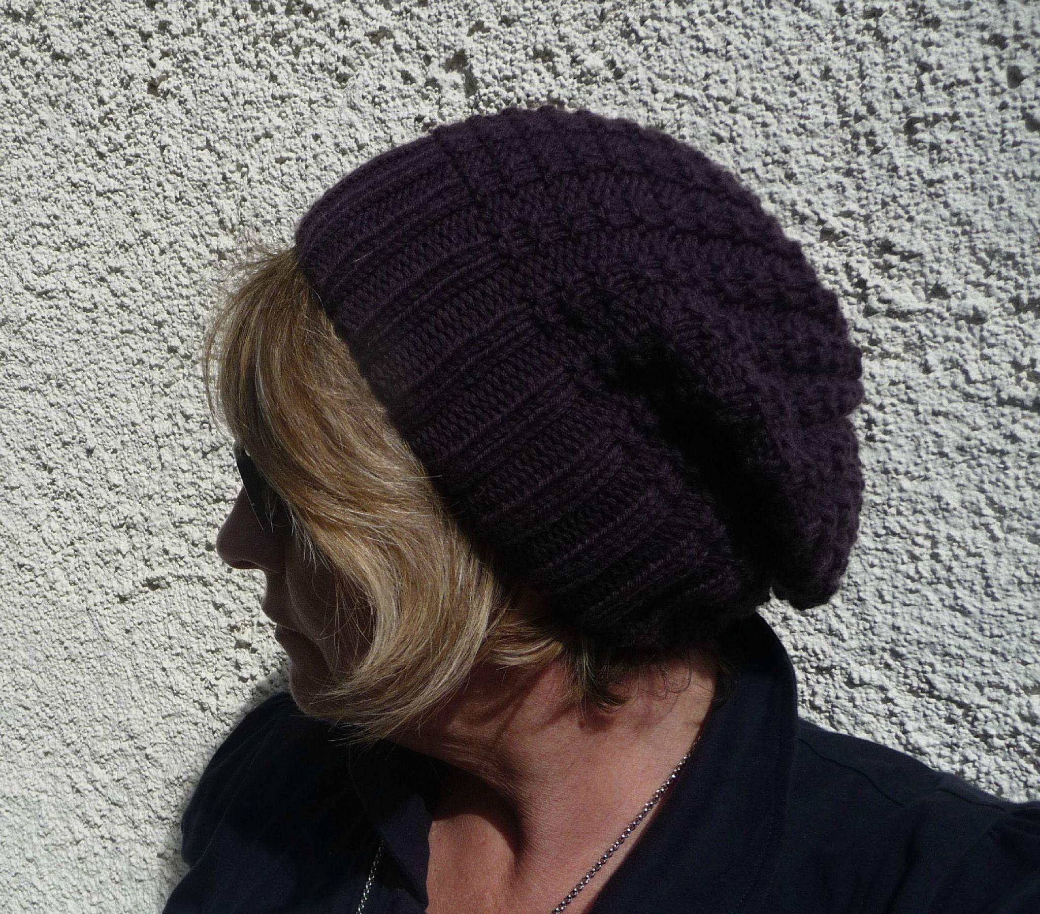 Tricoter une bonnet - Modele de bonnet a tricoter facile ...
