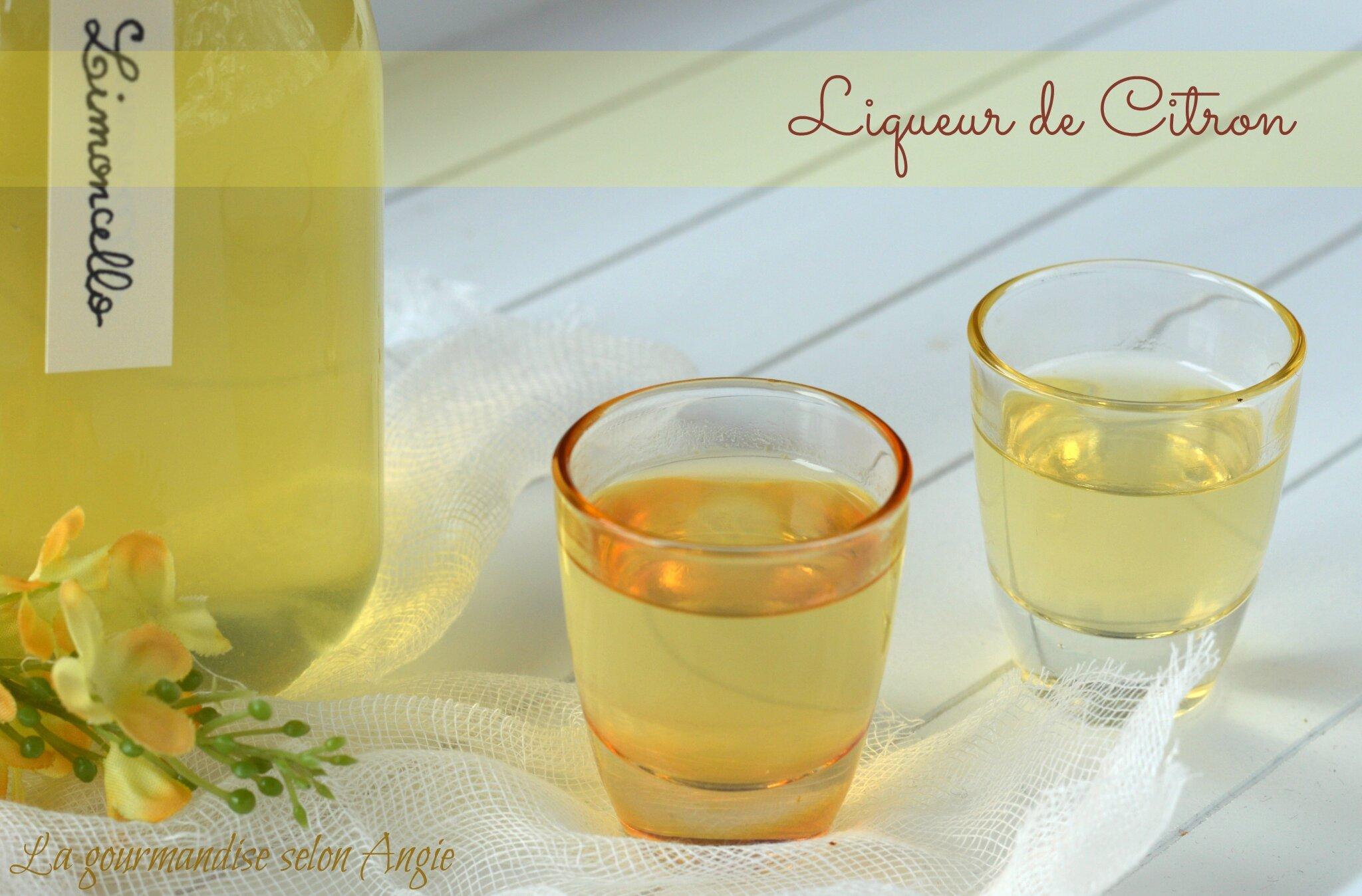Le limoncello liqueur de citrons la gourmandise for Alcool de verveine maison