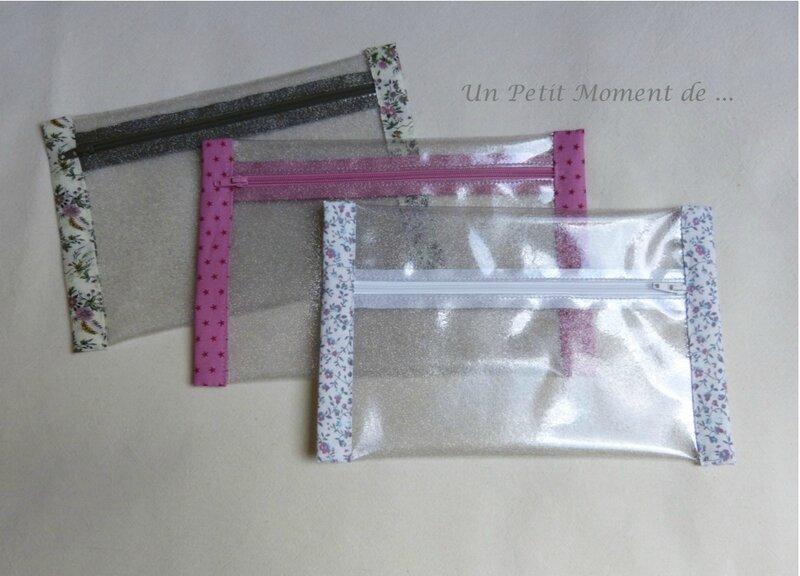 Pochettes transparentes 1