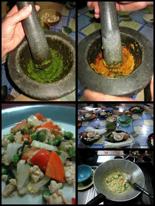 4 cours de cuisine