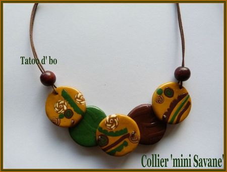 collier mini savane
