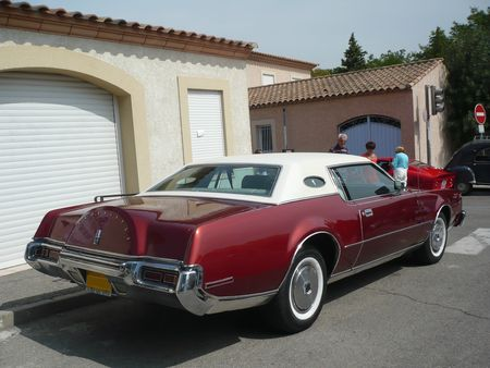 LINCOLN Continental Mark IV Cartier 2door hardtop 1973 Poussan (2)