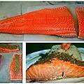 Pavé de saumon au zaatar