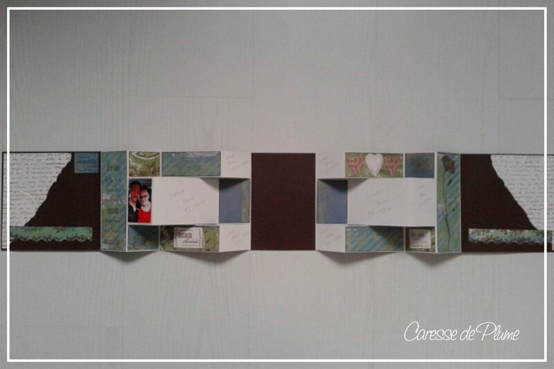 Cadeau anni Steffy - Album ouvert de face