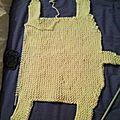 Drole de tricot pour une novice