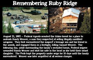 Remembering RubyRidge