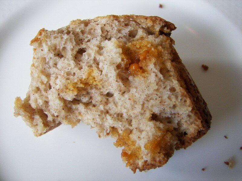 Muffins cannelle et pèpites de caramel