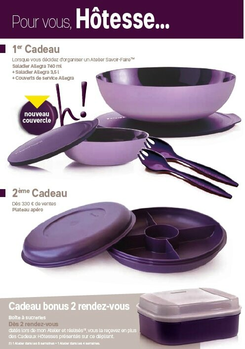 Promotions novembre tupperware loisirs cr atifs by asa for Micro vap violet
