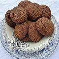 Sablés chocolat épices d'ottolenghi... où comment je publie une recette de noël au moment même où il se met à faire chaud