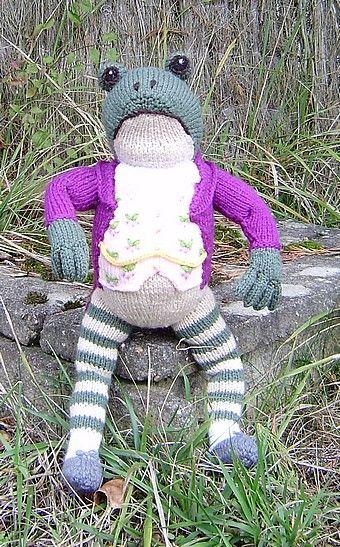Knitting Pattern For Jeremy Fisher : jeremy Fisher - Avec de la laine
