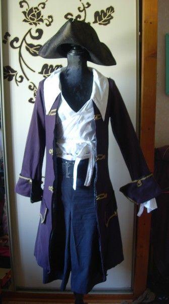 costume d 39 escrime pirate de jeanne la rouge l 39 atelier d. Black Bedroom Furniture Sets. Home Design Ideas